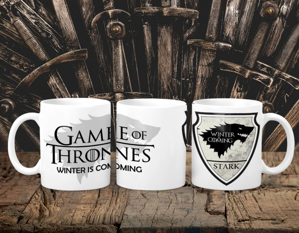 Cana Personalizata Game of Thrones - Stark House 0
