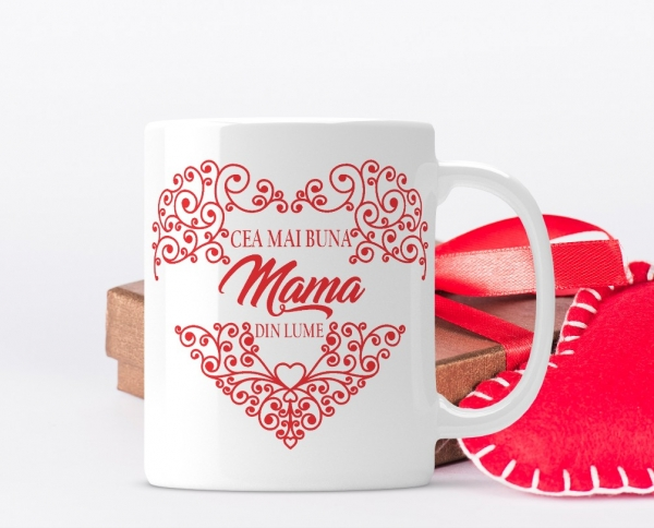 Cana personalizata - Cea mai buna Mama 0