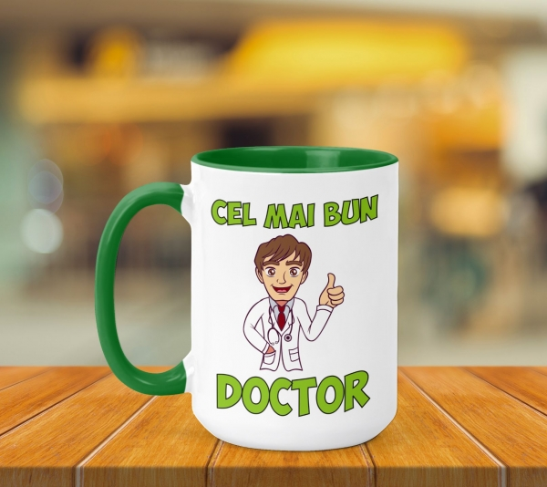 Cana Personalizata - Cel Mai Bun Doctor 0