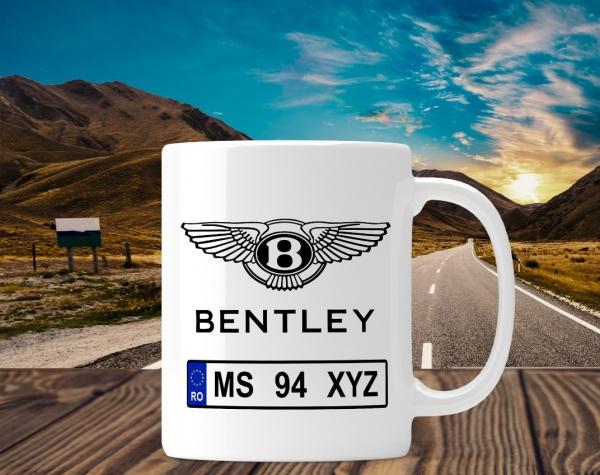 Cana personalizata Auto - Bentley 0