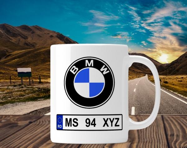 Cana personalizata Auto - BMW 0