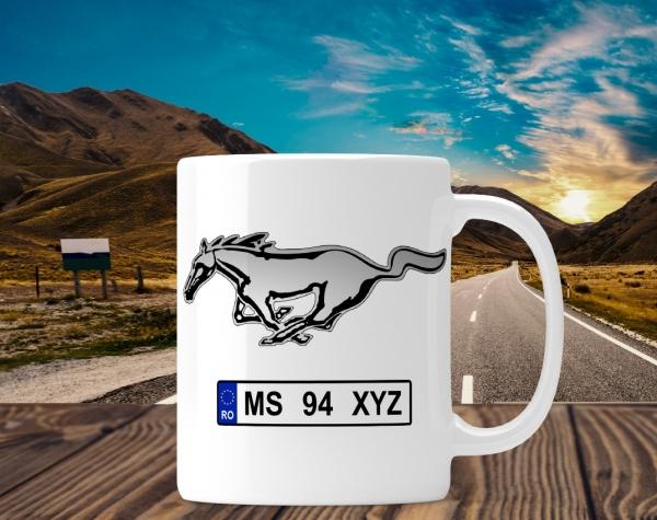 Cana personalizata Auto - Mustang 0