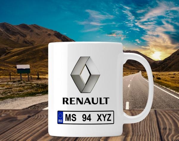 Cana personalizata Auto - Renault 0