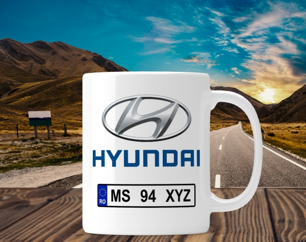 Cana personalizata Auto - Hyundai 0