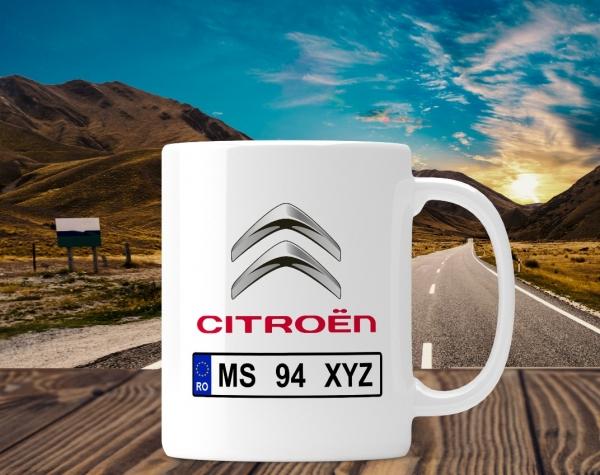 Cana personalizata Auto - Citroen 0