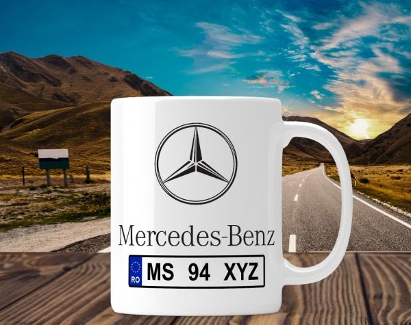 Cana personalizata Auto - Mercedes Benz 0