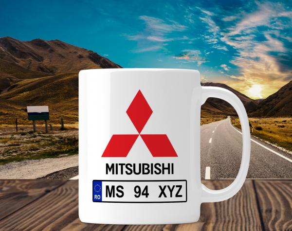 Cana personalizata Auto - Mitsubishi 0