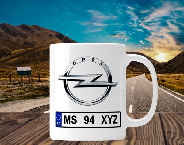 Cana personalizata Auto - Opel 0