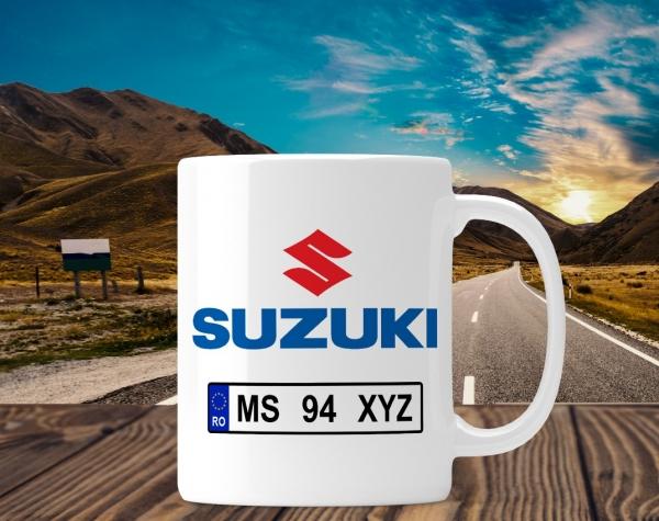 Cana personalizata Auto - Suzuki 0