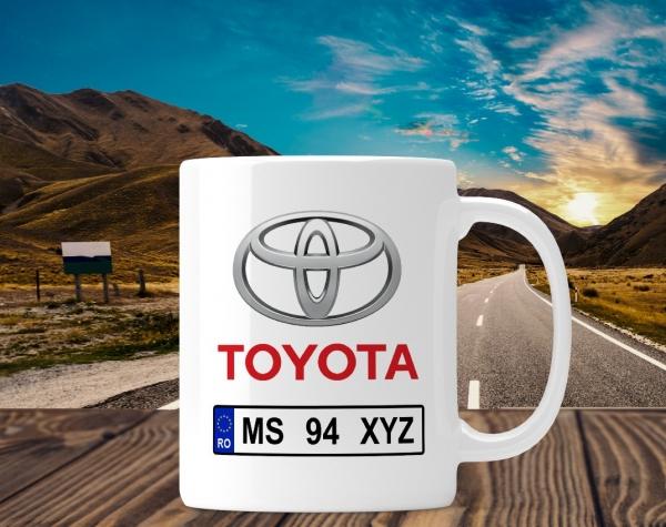Cana personalizata Auto - Toyota 0