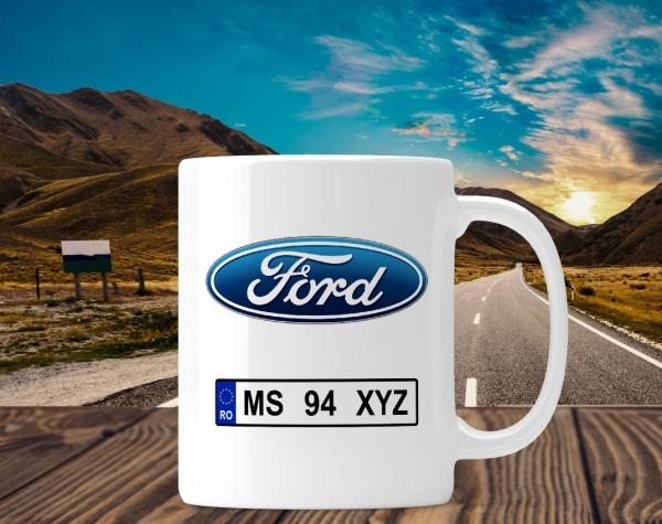 Cana personalizata Auto - Ford 0