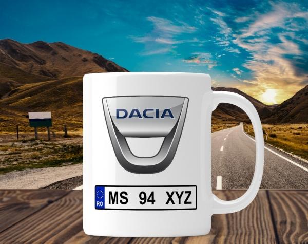 Cana personalizata Auto - Dacia 0