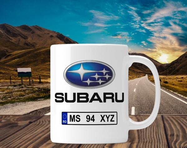 Cana personalizata Auto - Subaru 0