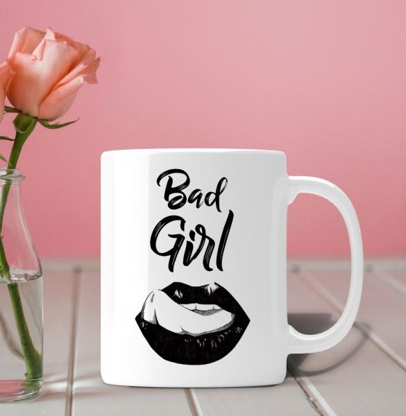 Cana Personalizata - Bad Girl 0