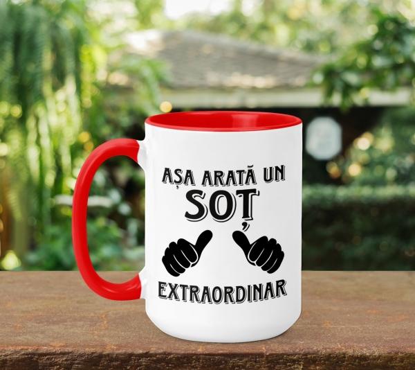 Cana Personalizata - Asa Arata Un Sot Extraordinar 0