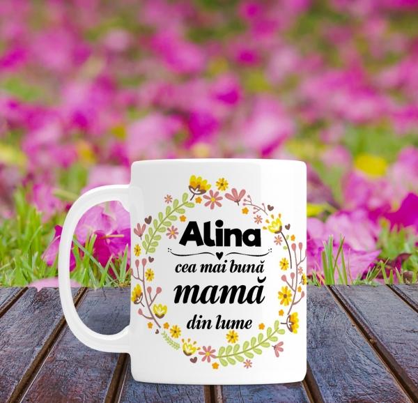 Cana personalizata - Cea mai buna mama din lume 0