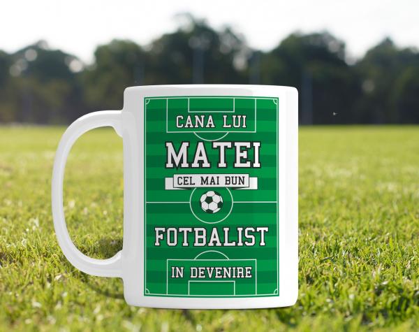 Cana Personalizata - Cel Mai Bun Fotbalist In Devenire 0