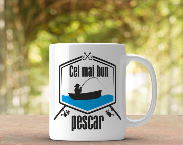 Cana Personalizata - Cel Mai Bun Pescar 0