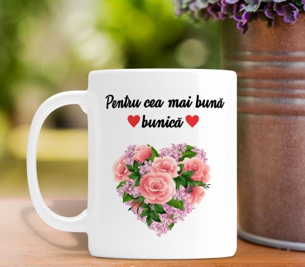 Cana personalizata Cu Poza - Cea Mai Buna Bunica 0