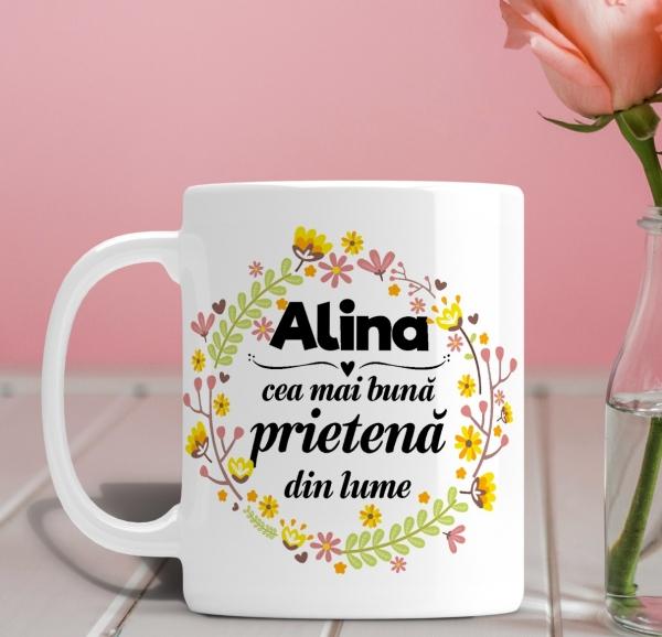 Cana personalizata Cu Poza - Cea Mai Buna Prietena 0