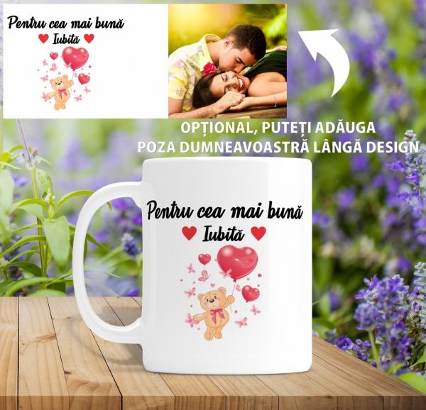 Cana personalizata Cu Poza - Cea Mai Buna Iubita [1]