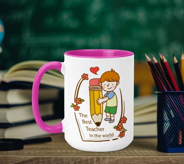 Cana Personalizata - The Best Teacher 0