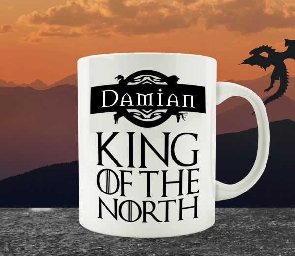 Cana Personalizata Game of Thrones - King / Queen Of The North 0