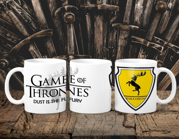 Cana Personalizata Game of Thrones - Baratheon House 0