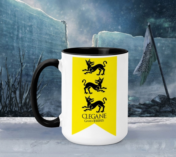 Cana Personalizata Game of Thrones - Clegane House 2 0