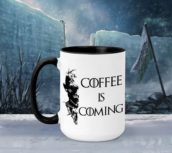 Cana Personalizata Game of Thrones - Coffee is Coming 2 0