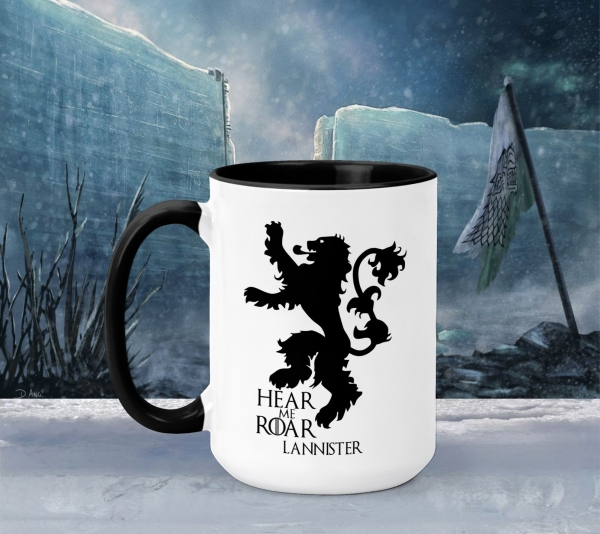 Cana Personalizata Game of Thrones - Hear Me Roar 0