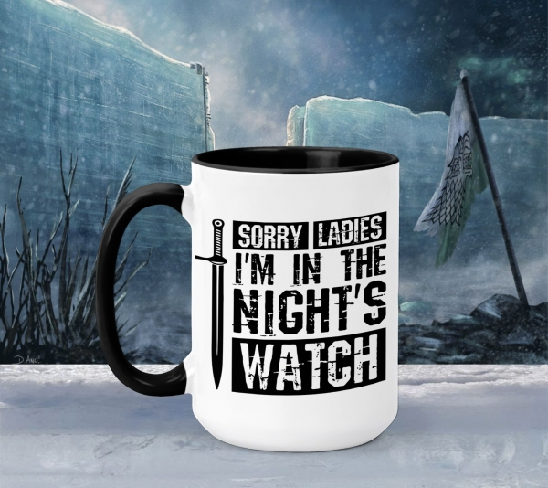 Cana Personalizata Game of Thrones - Night's Watch 0