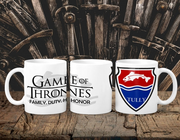 Cana Personalizata Game of Thrones - Tully House 0