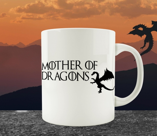 Cana Personalizata Game of Thrones - Mother Of Dragons 4 0