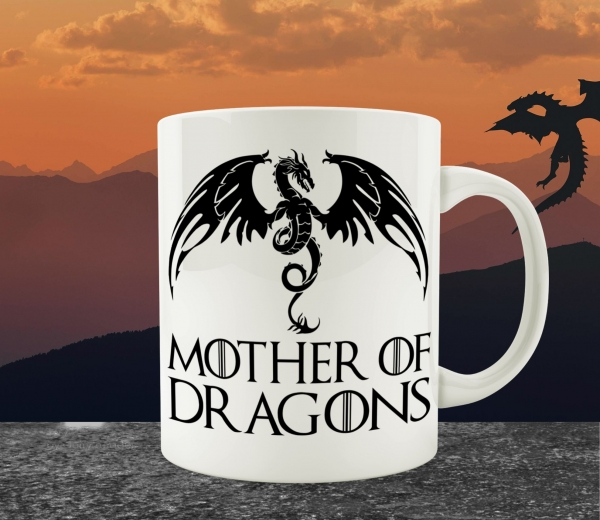 Cana Personalizata Game of Thrones - Mother Of Dragons 0