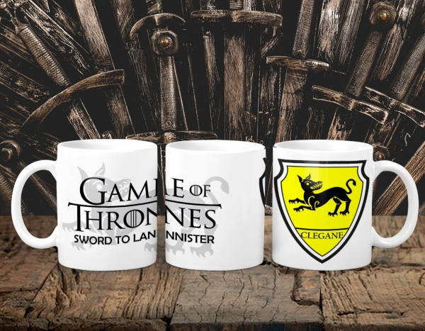 Cana Personalizata Game of Thrones - Clegane House 0