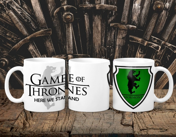 Cana Personalizata Game of Thrones - Mormont House 0