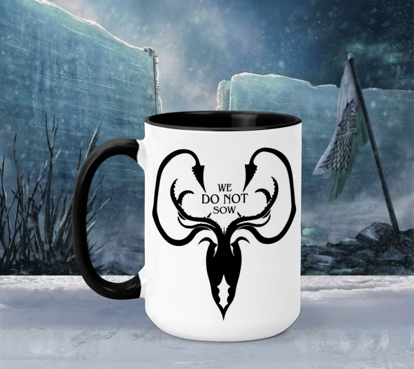 Cana Personalizata Game of Thrones - We Do Not Sow House Greyjoy 0