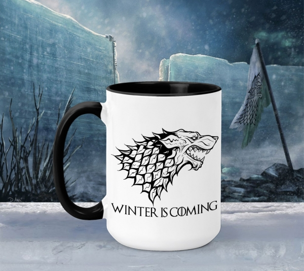 Cana Personalizata Game of Thrones - House Stark Winter Is Coming 0