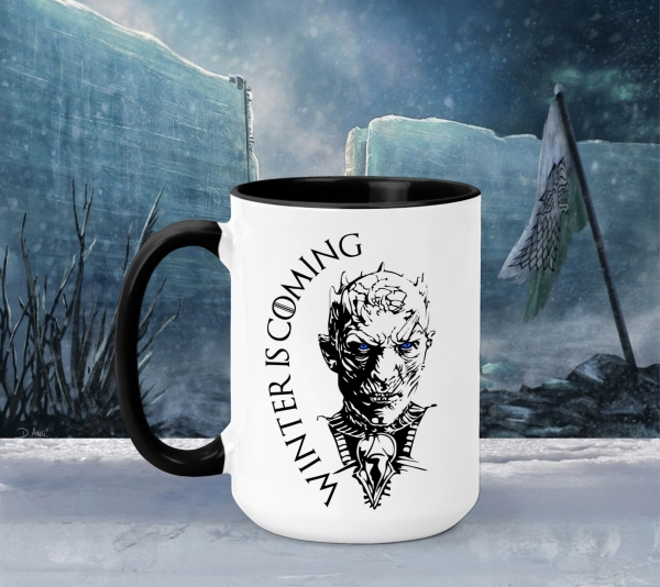 Cana Personalizata Game of Thrones - Winter Is Coming white walkers 0