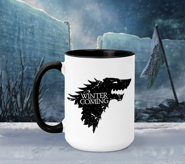 Cana Personalizata Game of Thrones - Winter Is Coming Stark 2 0