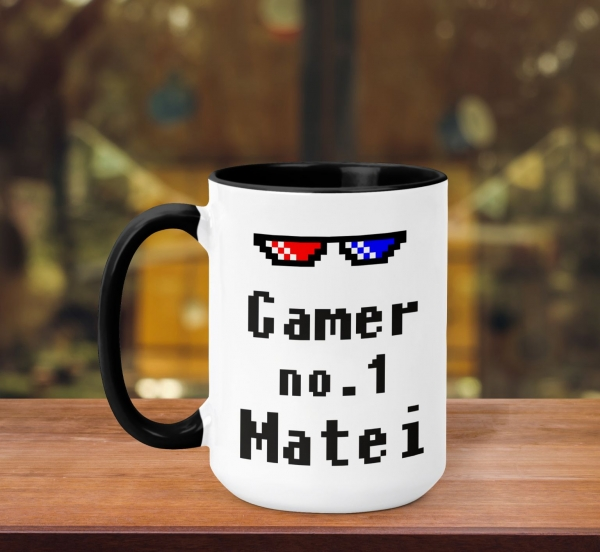 Cana Personalizata - Gamer No. 1 + Nume 0