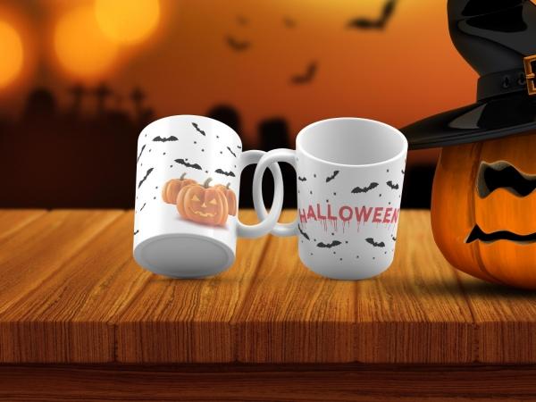 Cana personalizata - Halloween 0