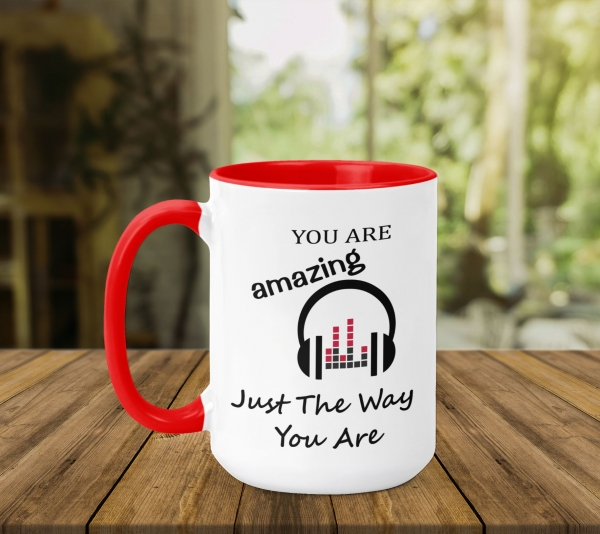 Cana Personalizata - Just The Way You Are 0