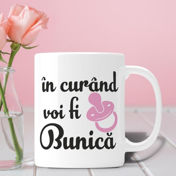 Cana Personalizata - In Curand Voi Fi Bunica [0]