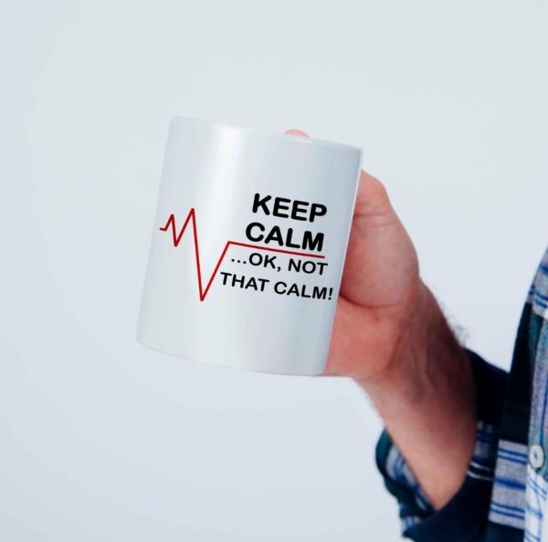 Cana personalizata - Keep Calm 0