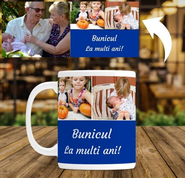 Cana personalizata - La multi ani bunicul 1