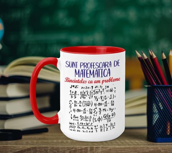 Cana Personalizata - Profesoara De Matematica 0
