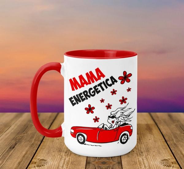 Cana Personalizata - Mama Energetica 0