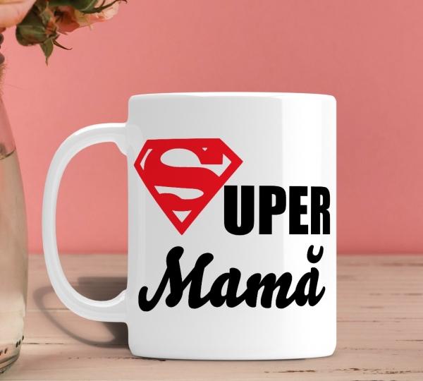 Cana personalizata - Super Mama [0]